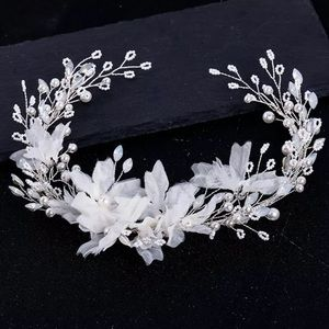 Vivian Floral Bridal Headband